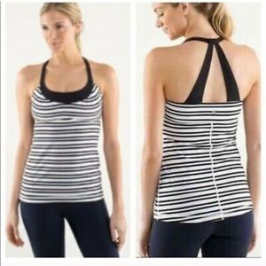 Striped Lululemon Tank Top
